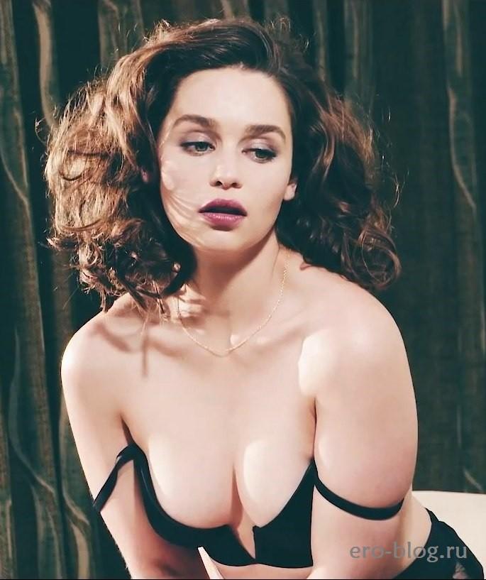 Голая Emilia Clarke фото, Обнаженная Эмилия Кларк